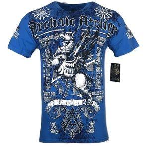 ARCHAIC AFFLECTION Mens T-Shirt BASE Premium